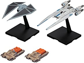 Bandai Hobby Star Wars U-Wing Fighter & Tie Striker Rogue One: A Star Wars Story 1/144