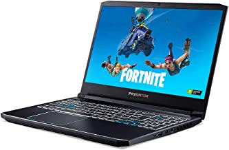 Acer Predator Helios 300 15.6-Inch FHD 1080P Gaming Laptop, Intel 6-Core i7-9750H up to 4.5 GHz, NVIDIA GTX 1660 Ti, 16GB DDR4 RAM, 1TB PCle SSD (Boot) + 2TB HDD, HDMI, WiFi, Backlit KB, Windows 10