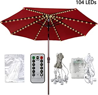 transparent umbrella with lights
