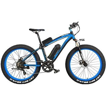LANKELEISI XF4000 Elite 500W Potente Bicicleta eléctrica, 26 ...