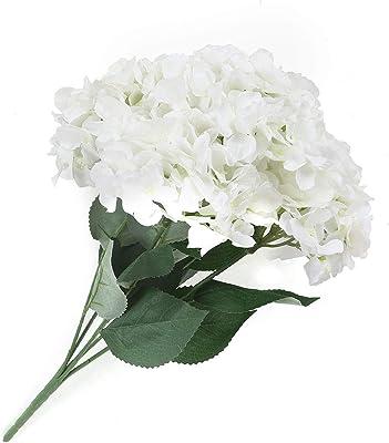 @home by Nilkamal Hydrangea Flower Bunch, White