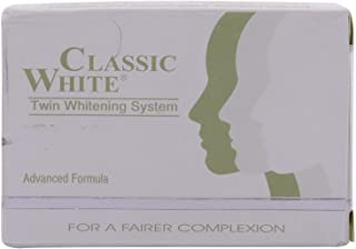 Classic White Skin Soap with Twin Whitening System - (85g) - 12 Pieces