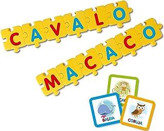 Brinquedo Pedagógico Monta Palavras, Elka, Multicor