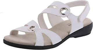 Best wide width sandals white Reviews