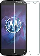 [2 Pack] Motorola Moto Z2 Force Tempered Glass Screen Protector with 2.5D Round Edge Ultra Thin Shatter-Proof and Bubble Free Anti-Scratch