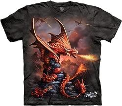 The Mountain Men's Fire Dragon Tee