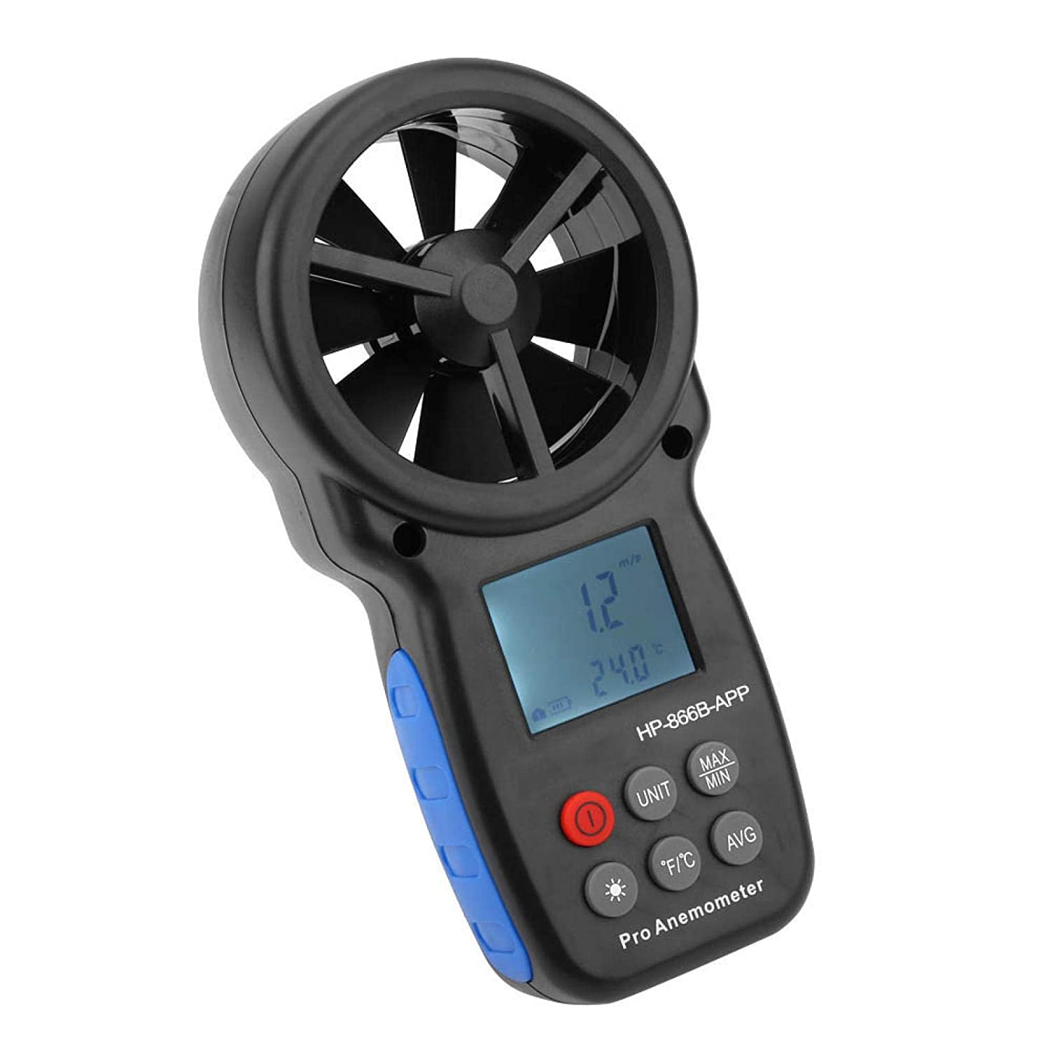 Wind Chill Max 56% OFF Same day shipping Gauge Handheld Speed Anemometer Fl Meter USB Air