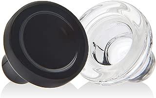 Godinger Crystal Wine Bottle Stoppers, Wine Stopper Seal Preserves Wine With Elegance - European Made - Set of 4