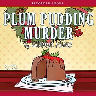 Plum Pudding Murder audiobook cover art