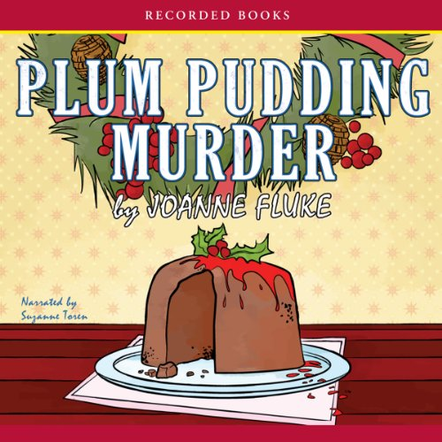 Plum Pudding Murder audiobook cover art