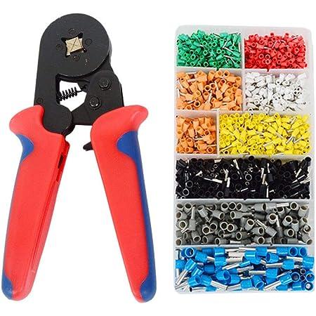 Self-adjustable Crimping Pliers Ferrule Crimper 0.25-10mm2  Crimp Tool P5L4