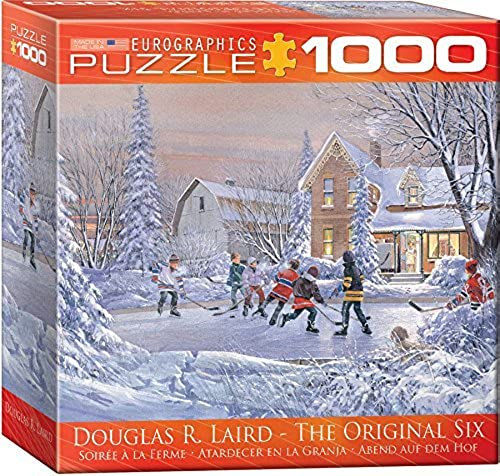 EuroGraphics The Original Six Puzzle (1000-Piece) by EuroGraphics