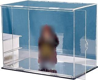 LM-Coat rack XINGLL Vitrine Acrylique Voiture, Boîte Transparente Anti-poussière, Musée La Salle Jeux Bureau pour Objets C...