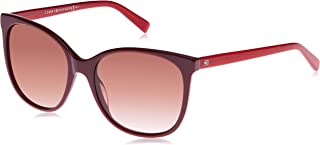 Tommy Hilfiger Unisex-Adult's TH 1448/S K8 Sunglasses, Red, 56 (TH 1448/S K8 A1C - 56)