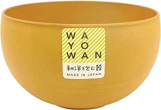 アサヒ興洋 お椀 小椀 丸型 WAYOWAN メープル 約直径10.1×高さ5.8cm 食洗機対応 電子レンジ対応 手になじむ 日本製 AZ16-01