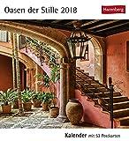 Postkartenkalender Oasen der Stille - Kalender 2018 - Harenberg-Verlag - mit 53 heraustrennbaren Postkarten - 16 cm x 17,5 cm
