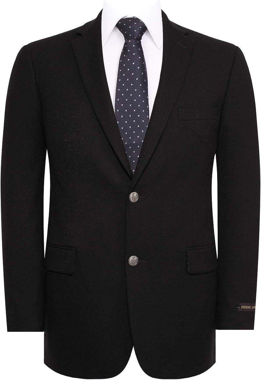 Men's Sport Coat Classic Fit 2 Button Stretch Blazer Suit Jacket