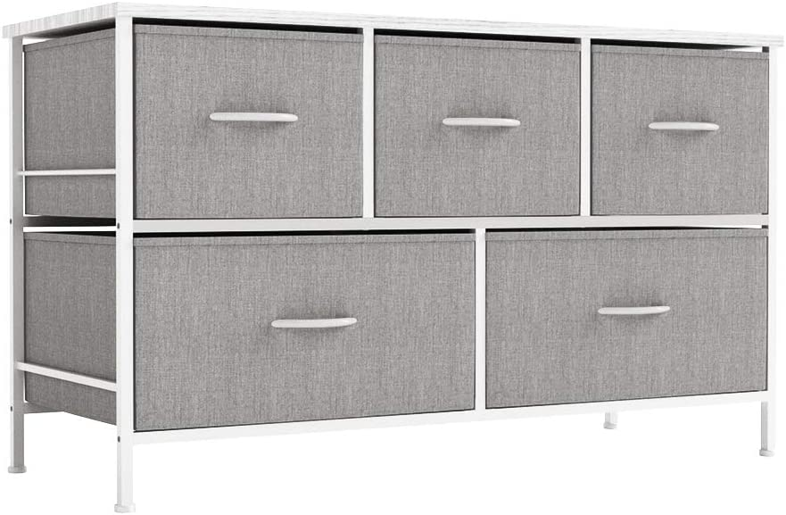ALLZONE Dresser for Bedroom Storage Dr Organizer 5 Max 54% OFF Fixed price sale Chest Fabric