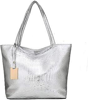 Leder Umhängetasche für Frauen, Umhängetasche Weiches Leder zum Einkaufen Hobo Bag Beach Multifunktionsbeutel zum Einkaufe...