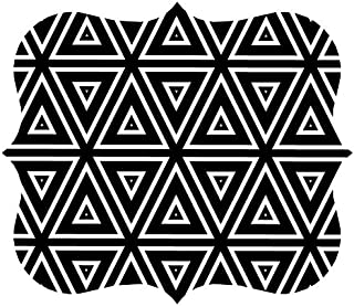 Fellowes Pad Mouse Pad, Geometric Triangles (5919201)
