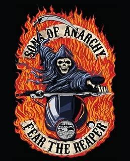 Sofantex Sons of Anarchy Fear of Reaper Luxury Plush Throw Blanket
