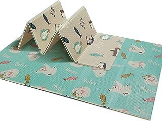 GUORRUI Foam Puzzle Mat Infant Crawling Mat Baby Crawling Mat Foldable Xpe Child Foam Pad Living Room Wear Resistant Non-s...