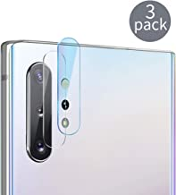 Casetego Compatible Galaxy Note 10 Plus/Note 10 Camera Lens Protector, [3 Pack] Ultra Thin Transparent Clear Camera Tempered High Definition Camera Lens Protector for Samsung Galaxy Note 10 Plus/10