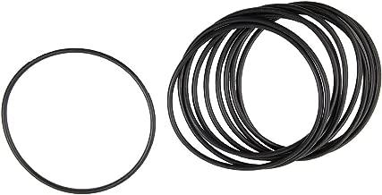 X AUTOHAUX 5pcs Silicone Caoutchouc Joint Torique VMQ Joint /étanch/éit/é pour Voiture 100mm x 3.1mm