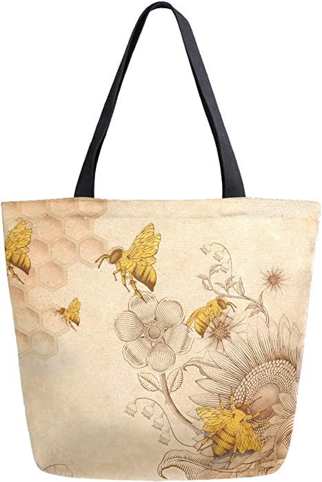 The Best Apple And Bee Tote