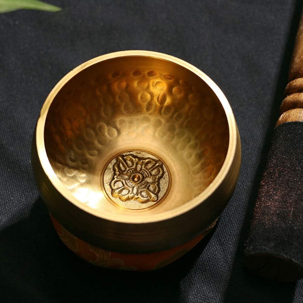 Muslady Singing Bowls Handmade Buddha Tibet Struck Bowl Ritual Music Therapy Copper Chime Tibetan Singing Bowls