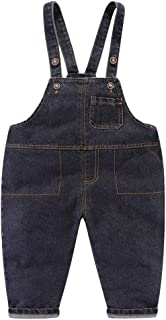 LittleSpring Toddler Baby Boy Overalls Cute Casual