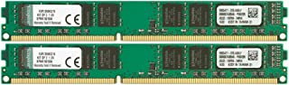 Kingston KVR13N9K2/16 - Memoria RAM de 16 GB (1333 MHz DDR3 Non-ECC CL9 DIMM Kit (2x8 GB) 240-pin, 1.5V)