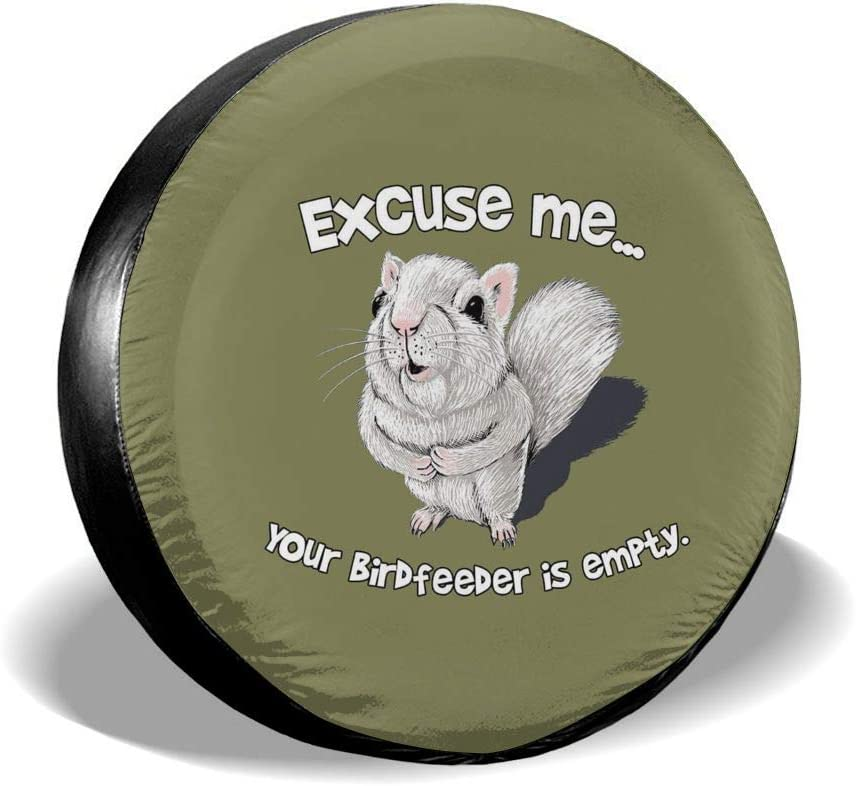 Excuse Me Sale SALE% OFF Squirrel Tire Max 41% OFF Cover Universal Proof S Dust-Proof Water