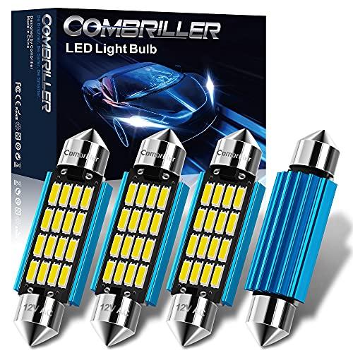 Combriller 578 Led Bulb 211-1 211-2 Led Festoon Bulb 41MM 42MM Led Bulb 6500K White Super Bright,...