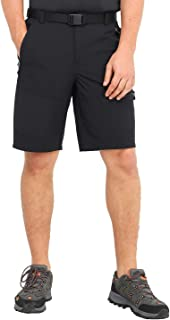 MIER Men's Stretch Tactical Shorts Lightweight Outdoor Cargo Shorts with 5 Zipper Pockets, Quick Dry and Water Resistant