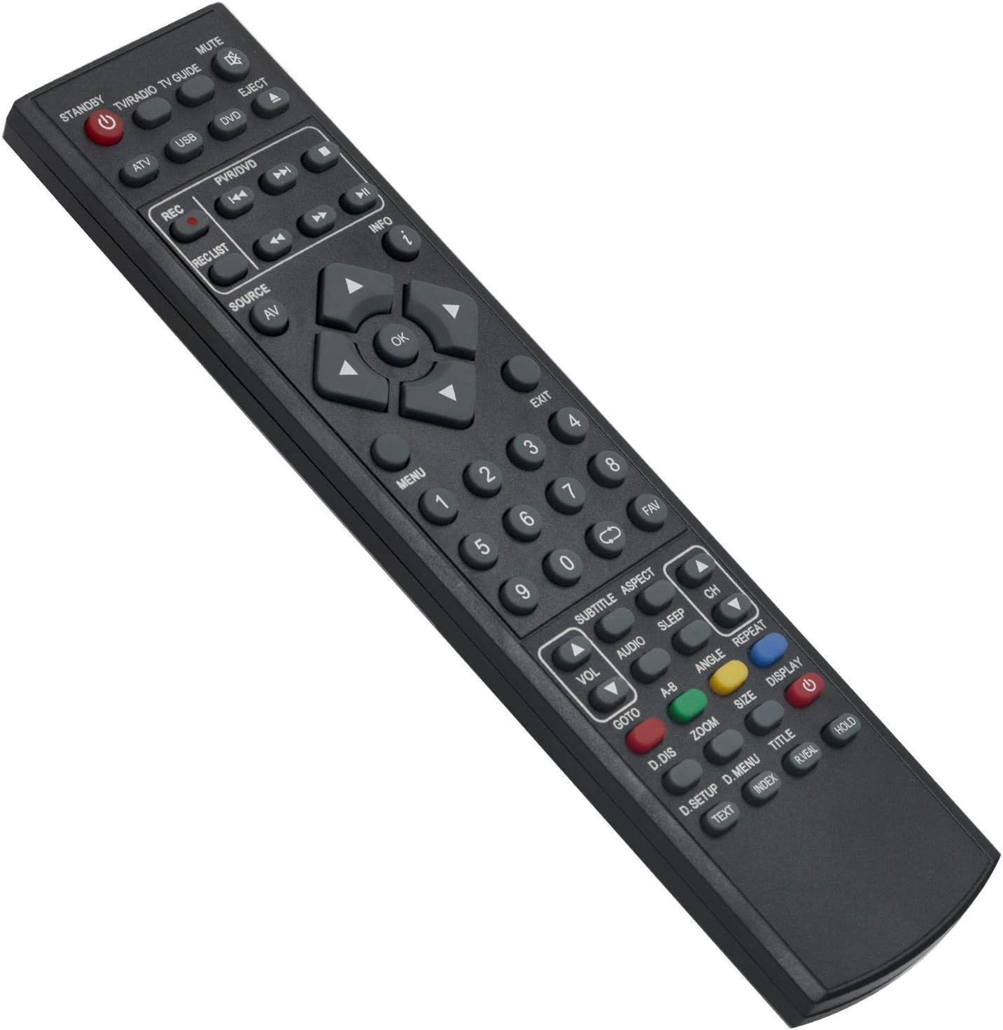 32/124I-WB-5B-HBKUP-UK Mando a Distancia de Repuesto - VINABTY Reemplace Control Remoto para BLAUPUNKT TV 32-124I-WB-5B-HBKUP-UK 32/122I-GB-5B-HBKU-UK Remote Controller