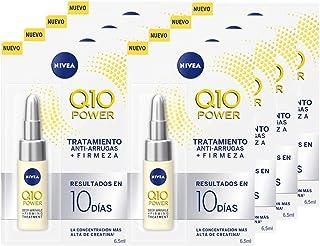 NIVEA Q10 Power Tratamiento Antiarrugas + Firmeza 10 días en pack de 8 (8 x 65 ml) ampollas antiedad con coenzima Q10 y ...