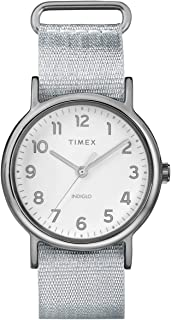 Weekender 38 mm Metallic Fabric Watch TW2R92500