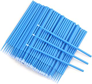 برس 500 میکرو یکبار مصرف Micro Applicators برای آرایش و مراقبت های شخصی (قطر سر: 2.5 میلی متر) - 5 X 100 PCS