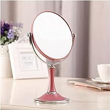HEG Staande make-up spiegel verstelbare prinses spiegel bureau 360 graden roterende dubbele ijdelheid spiegel Spiegels (Si...