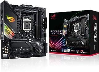ASUS Intel Z490 搭載 LGA1200 ROG STRIX Z490-G GAMING 【 MicroATX 】