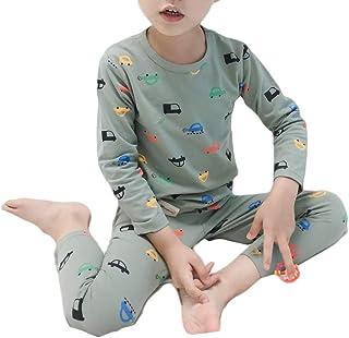 Pijamas para niños ropa de dormir de coche ropa de niños 2 piezas pantalones conjunto
