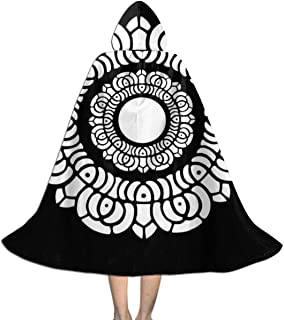 Avatar Legend of Korra White Lotus Unisex Kids Hooded Cloak Cape Halloween Xmas Party Decoration Role Cosplay Costumes
