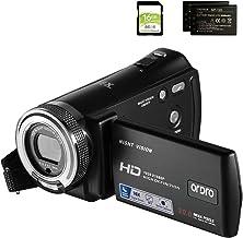 Camcorders ORDRO HDV-V12 HD 1080P Video Camera Recorder Infrared Night Vision Camera..