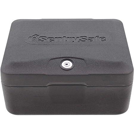 SentrySafe 0500 Fireproof Box with Key Lock, 0.15 Cubic Feet