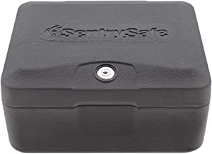 SentrySafe 0500 Fireproof Box with Key Lock, 0.15 Cubic Feet