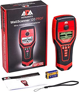 ADA Wall Scanner 120 Prof Digital Stud Finder, Metal, Wire and Wood Detector