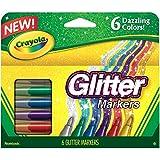 Crayola Washable Crayons, Large, 8 Colors - 2...