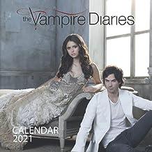 "The Vampire Diaries: 2021 Wall Calendar - Large 8.5"" x 17"" When Open - 12 Months"