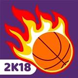 Dunk Swish 2K18 - Hit Flappy Basketball Into Hoops: Addicting Basket Ball Free Games